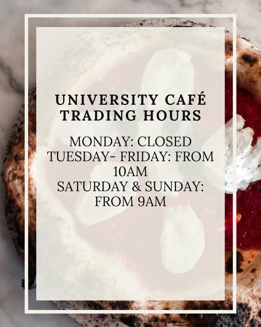 Updated Trading Hours from January 2021